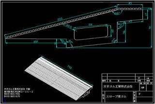 お客様のデザイン等から製作した3D CAD図面