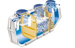 浄化槽の開発と製造