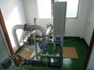 浄水場 配管工事3