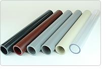 硬質塩化ビニル管やプラスチック管などをカット