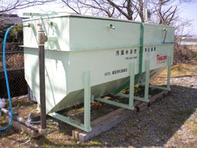 汚濁水自然流浄化装置