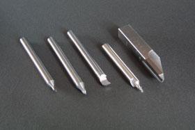 特殊刃物の加工例