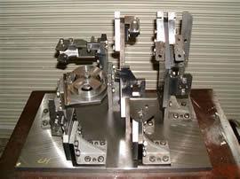 インナーフェンダー試作、溶接治具