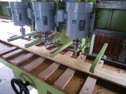 埋め木補修 節板材の穴あけドリルです。