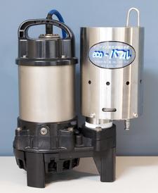 小型化したDDHRS方式ノズル(eco-バブル®-S1, -S2)