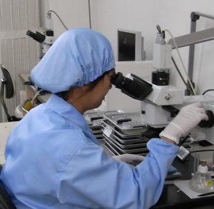 金属顕微鏡による検査、計測