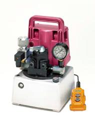 小型電動油圧ポンプUP-65SVシリーズ