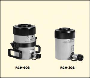 単動油圧シリンダ RCH-タイプ 120~1000KN センターホール<中空>シリンダ