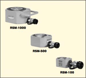 単動油圧シリンダ RSM-タイプ 45~1500KN 低機高重量物持上用シリンダ