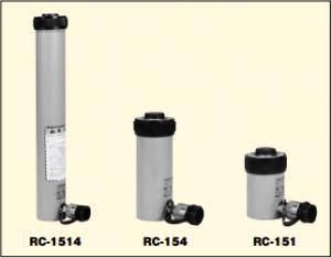 単動油圧シリンダ RC-タイプ150KN