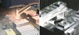 金属部品の加工