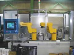 カートナー集積供給ロボット