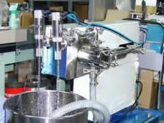 食品用サーボ充填機 具材充填用カッターノズル