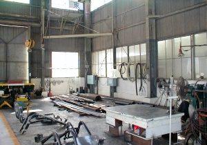 丸物、旋盤工場