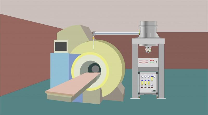 MRI対応ヘリウム循環装置