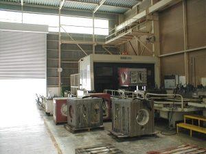 BMC100Eタイプ横型マシニングセンター