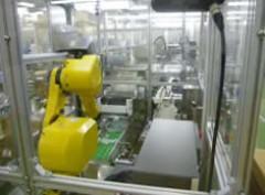 医薬専用機 ロンド集積ロボット