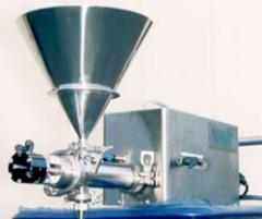 低コストサーボピストン式 エアー駆動式充填機 LPAシリーズ