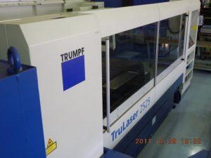 トルンプ社レーザー加工機