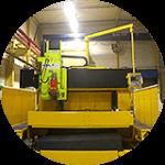 材料調達から検査・出荷まで一貫生産が可能