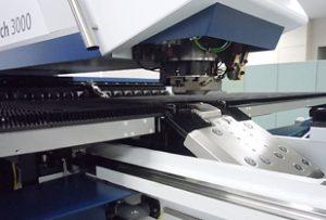 TruPunch 3000に搭載されたパンチヘッド