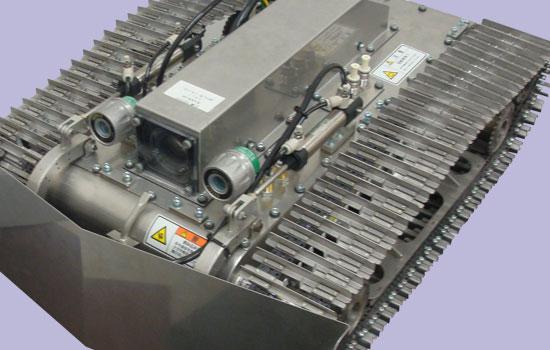 爆発性ガス発生場所で作業をするロボットの製造及び防爆機器