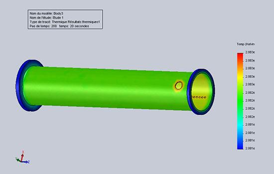 老朽化したプラント配管の内部異常を離れて検出できる技術