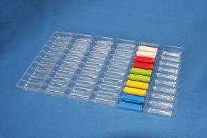 小型切削部品・射出成形部品用の仕切トレー