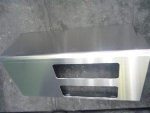 アルミ製品加工処理例 (アルマイト前下地処理)