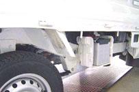 軽トラックの部品として使用
