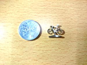 【切断加工】一円玉より小さく