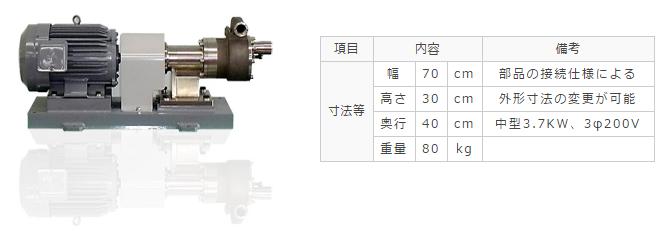 高圧遠心ポンプ【キャビテーションポンプ】